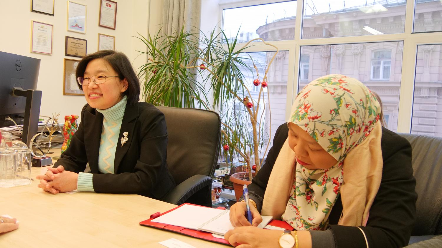 Meeting with a delegation from the Malaysian Palm Oil Council