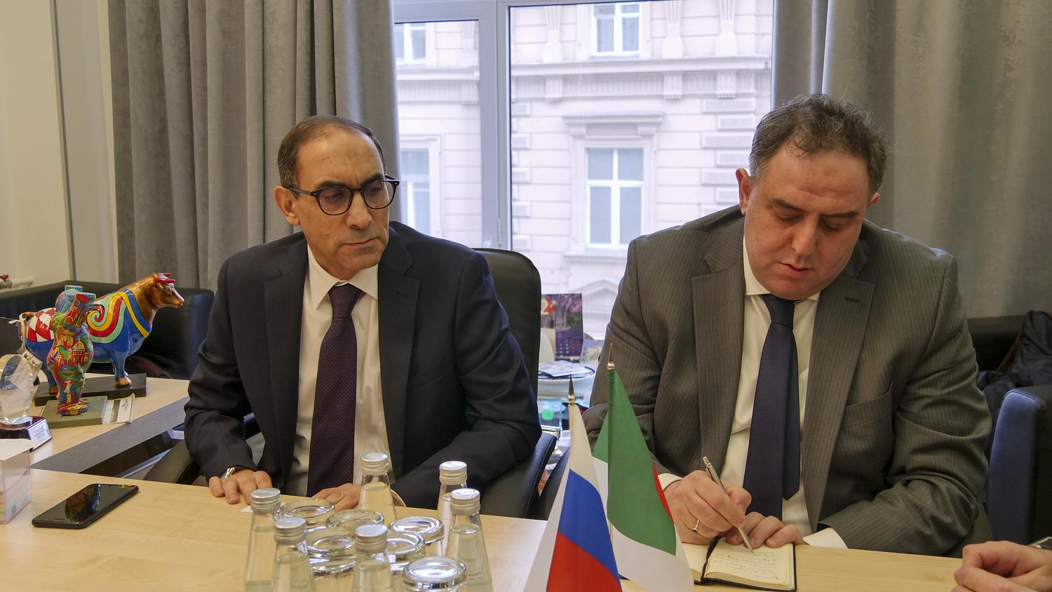 "On February 18 in the Chamber of Commerce and Industry a round table on ""Business cooperation between companies of the Russian Federation and the Algerian People's Democratic Republic"" was held"